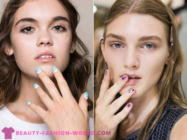 Fashion Nails Sommer 2016 kurze Nägel