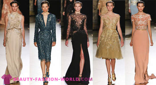 Impeccable Kleid von Elie Saab Haute Couture Herbst-Winter 2012-2013
