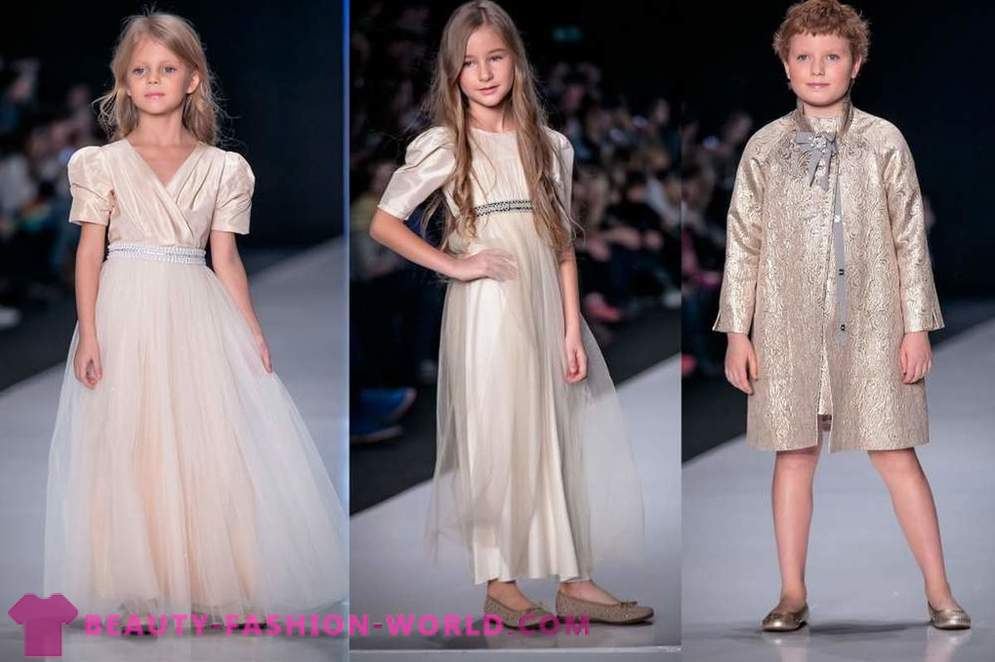 Kinderkollektionen bei Mercedes-Benz Fashion Week Russland im Jahr 2014